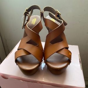 Brown Mossimo Heels